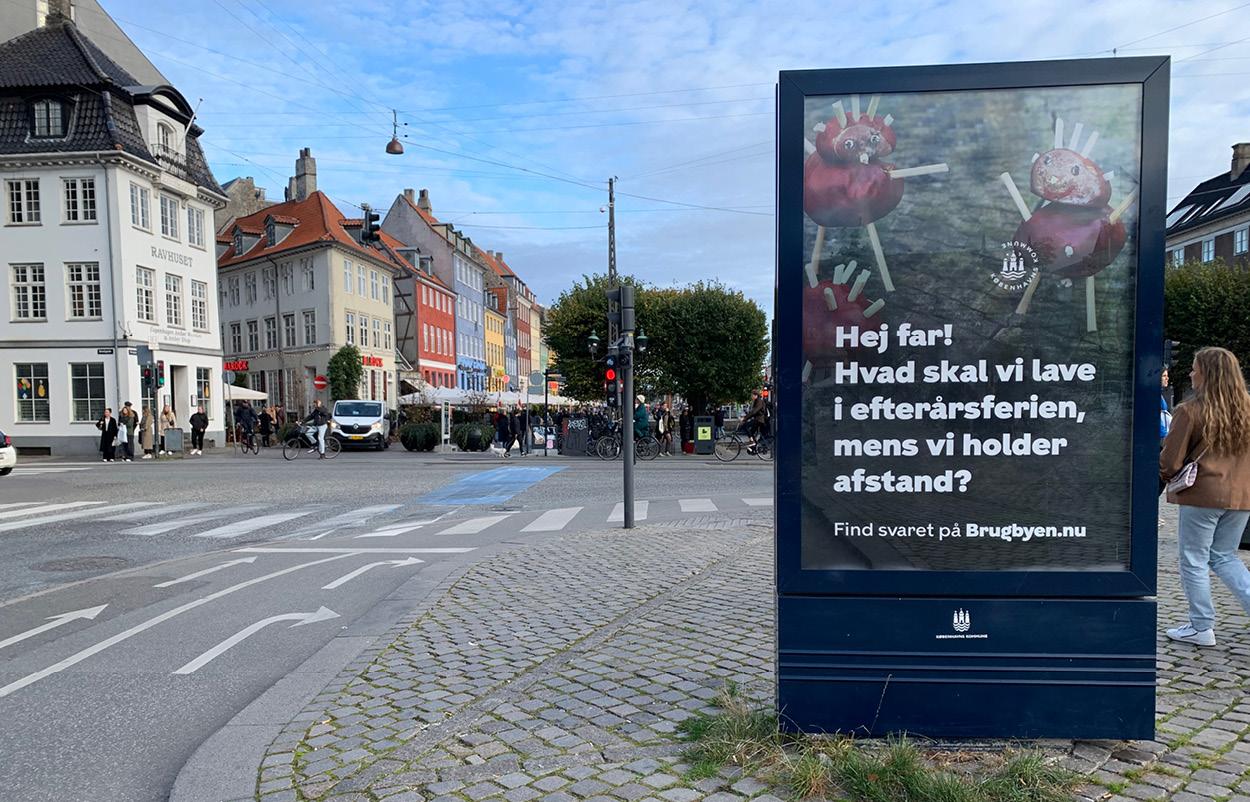 Nyhavn med plakat af brugbyen.nu