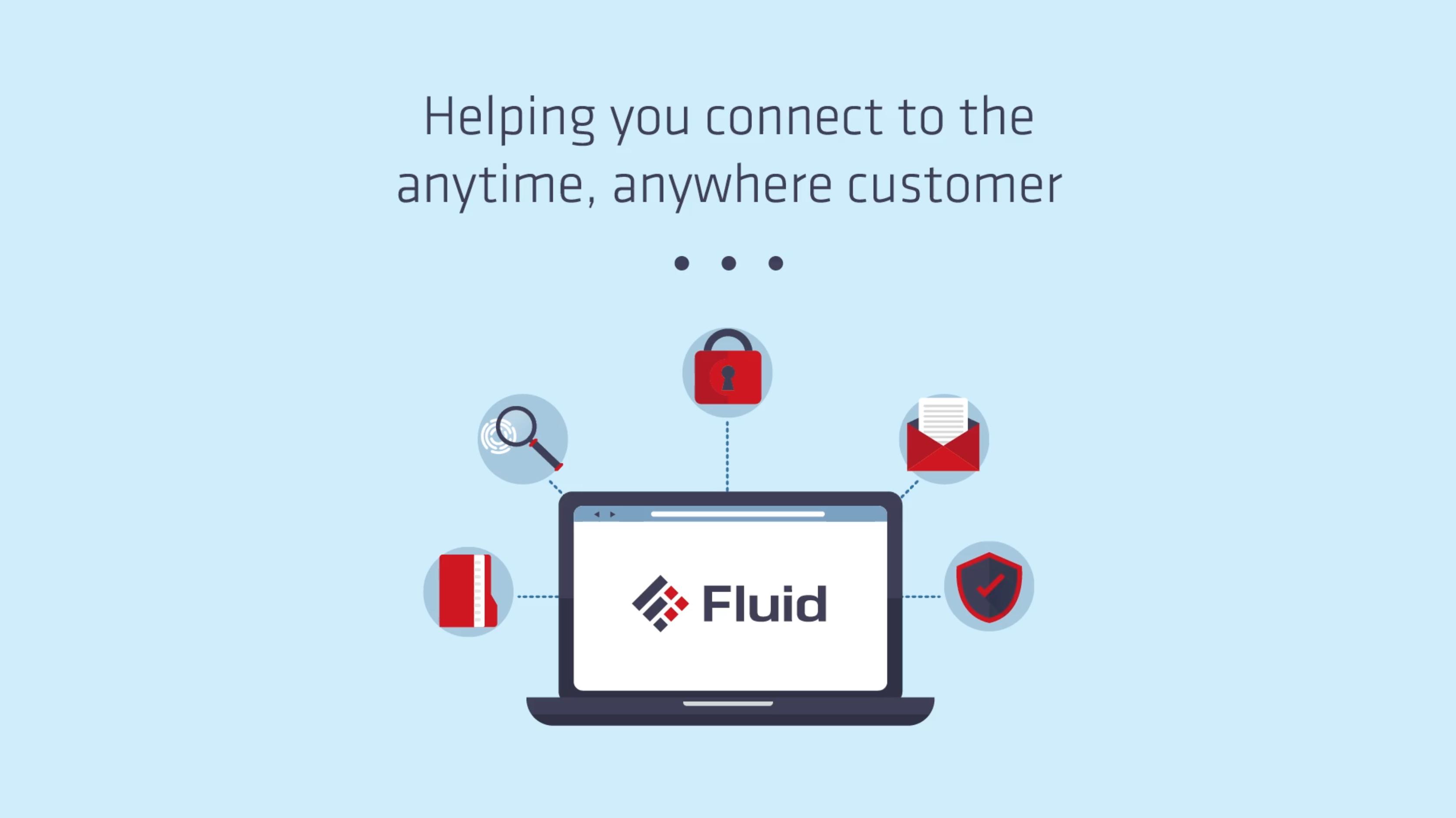 Fluid computer icon